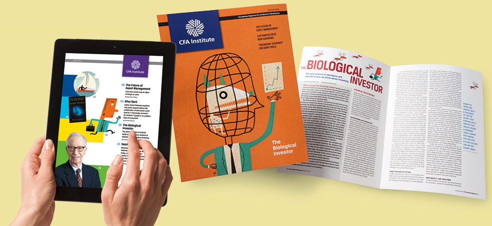 CFA Magazine and iPad App