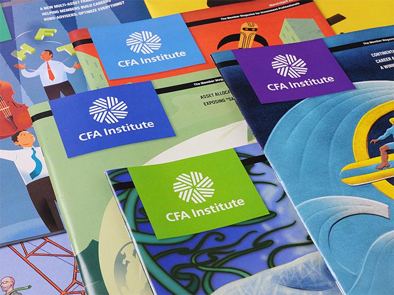 CFA Magazine covers