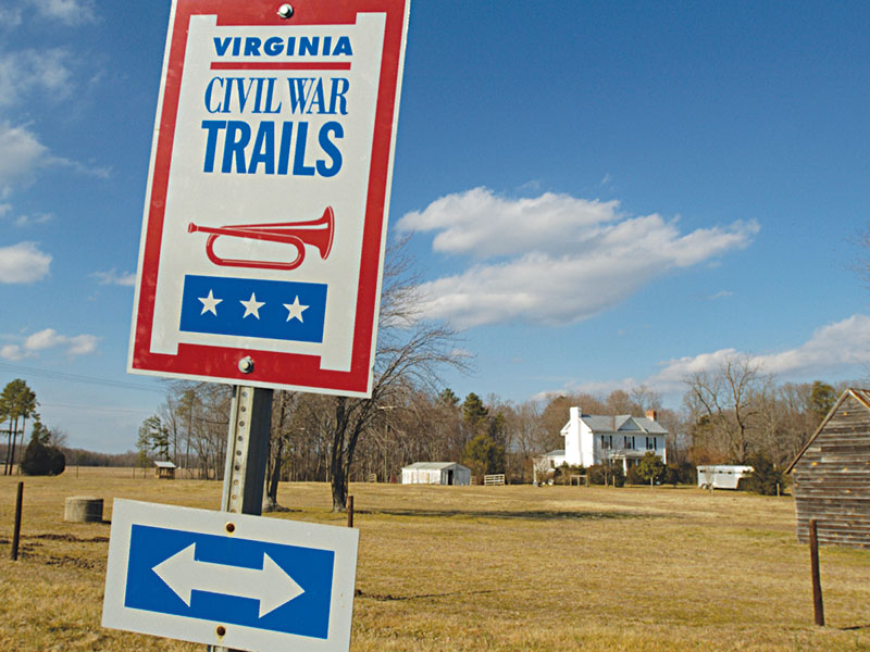 Civil War Trails sign