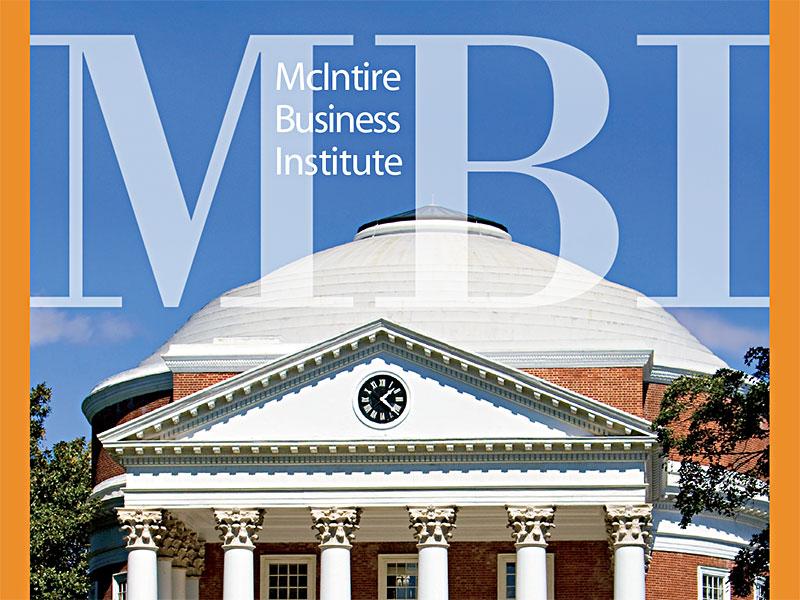 MBI Logo / UVA Rotunda