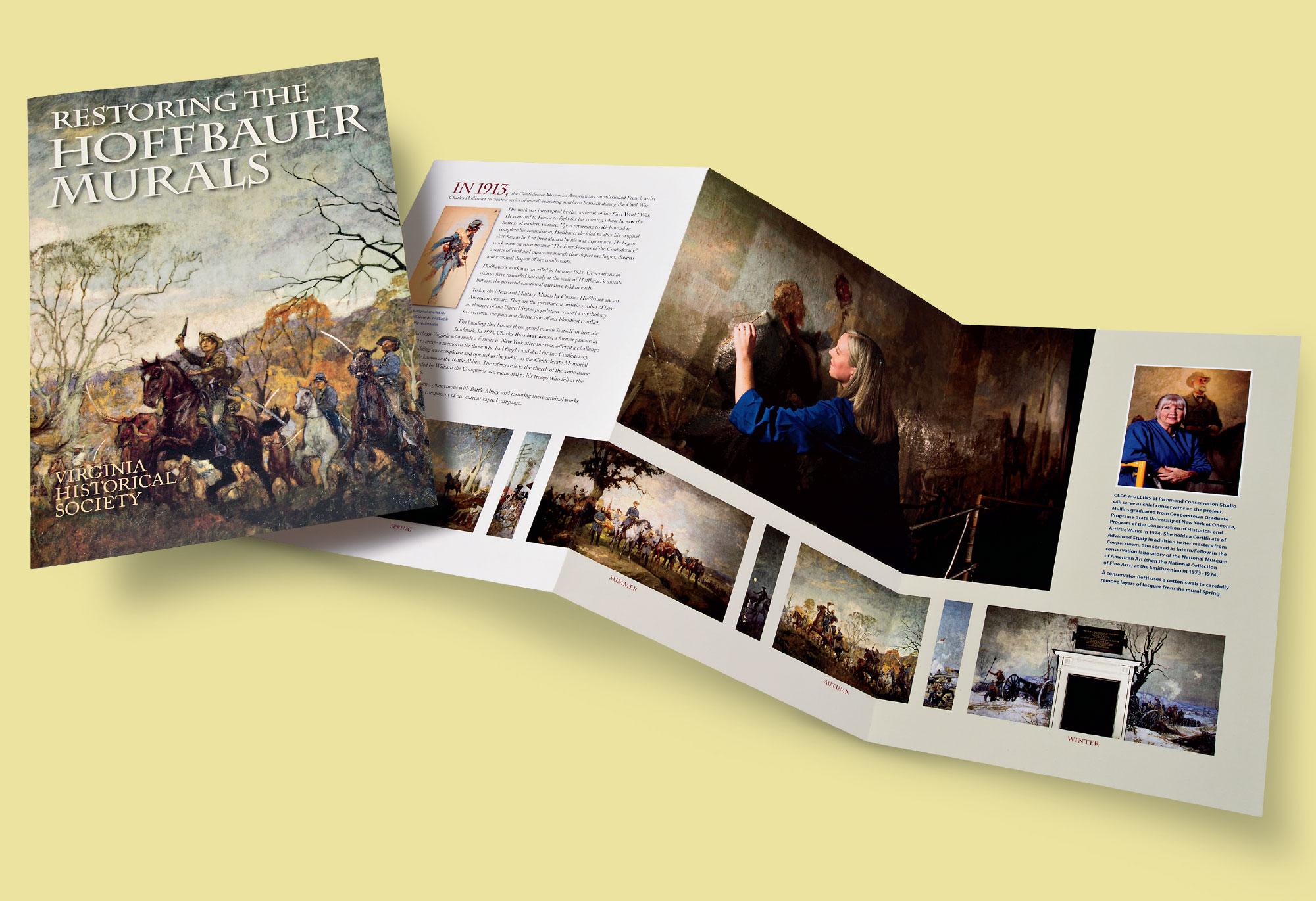 Hoffbauer Murals brochure