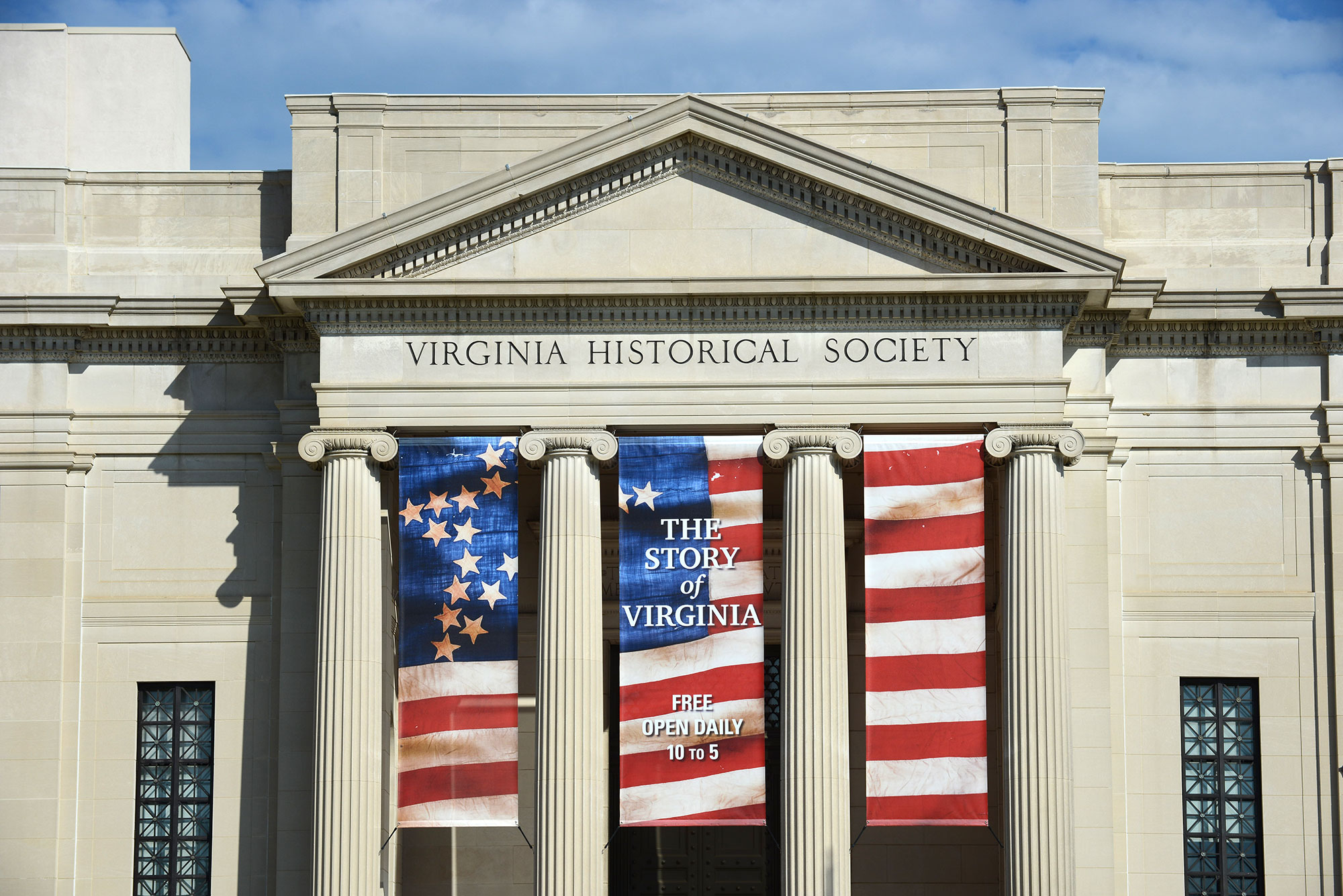 Story of Virginia Entrance Banner