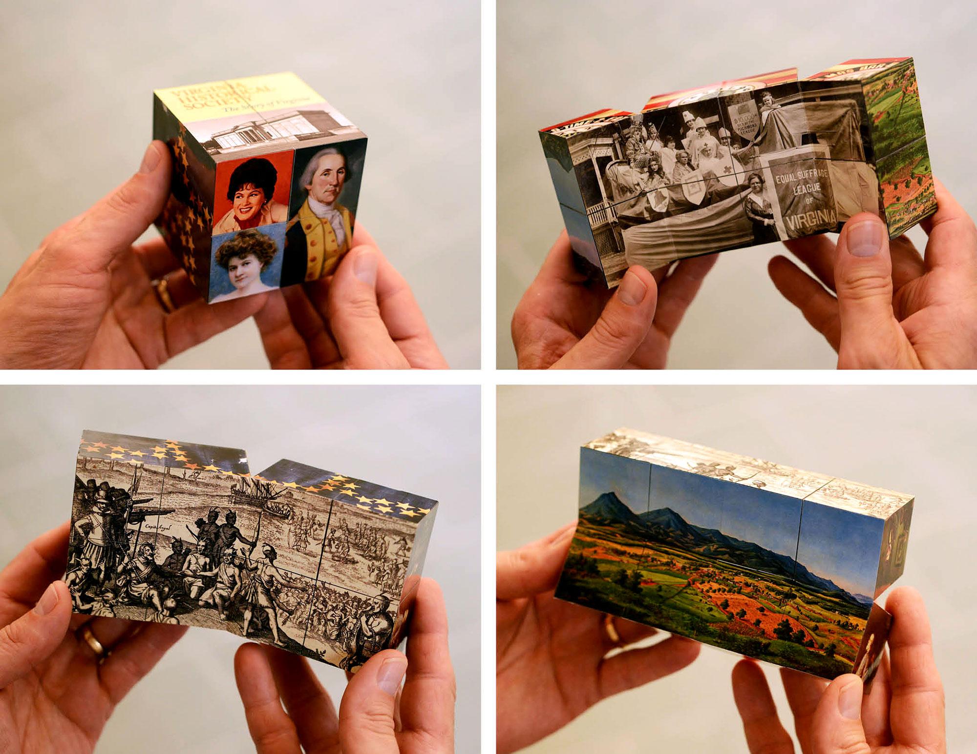 Story of Virginia magic cube