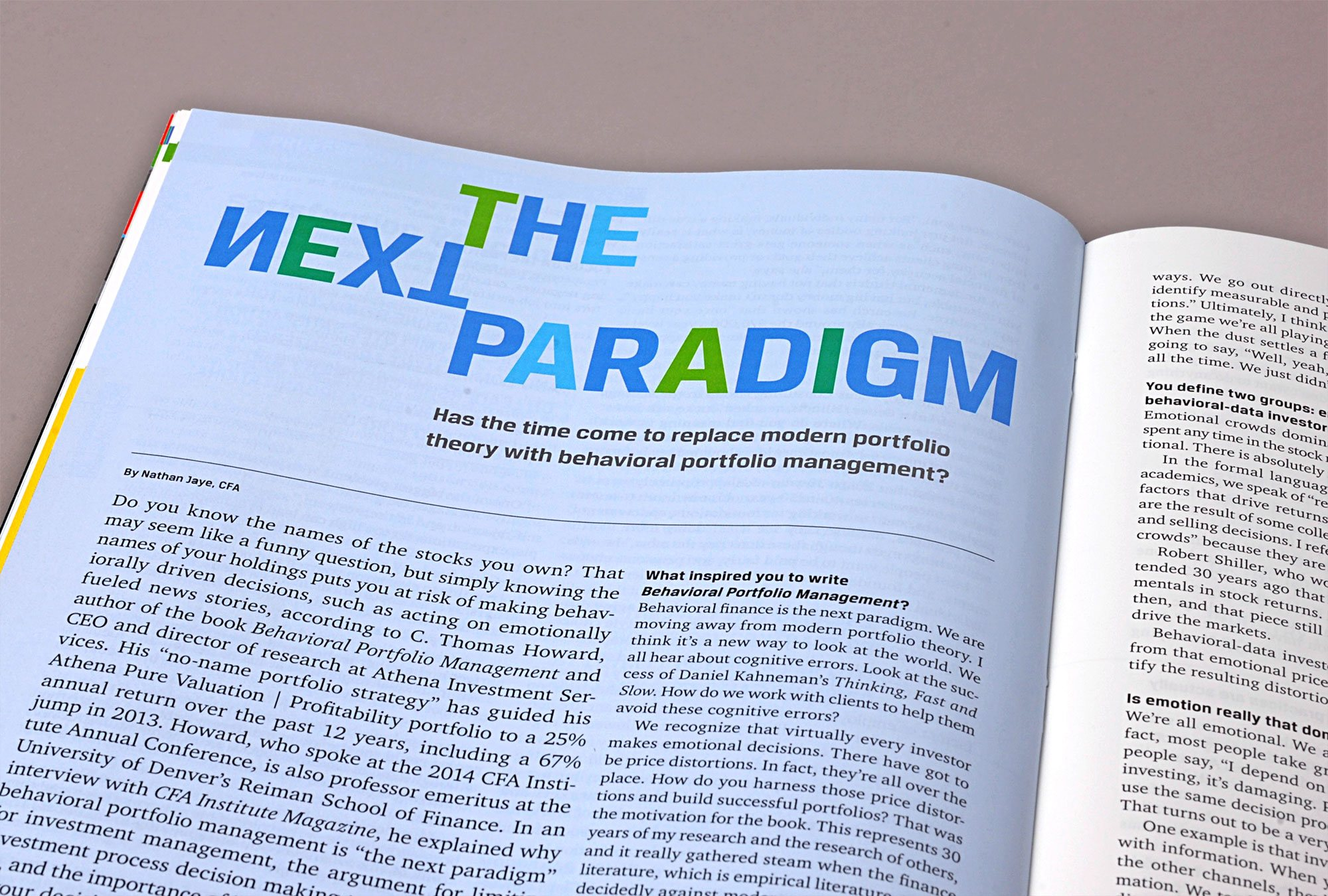 The Next Paradigm title treatment