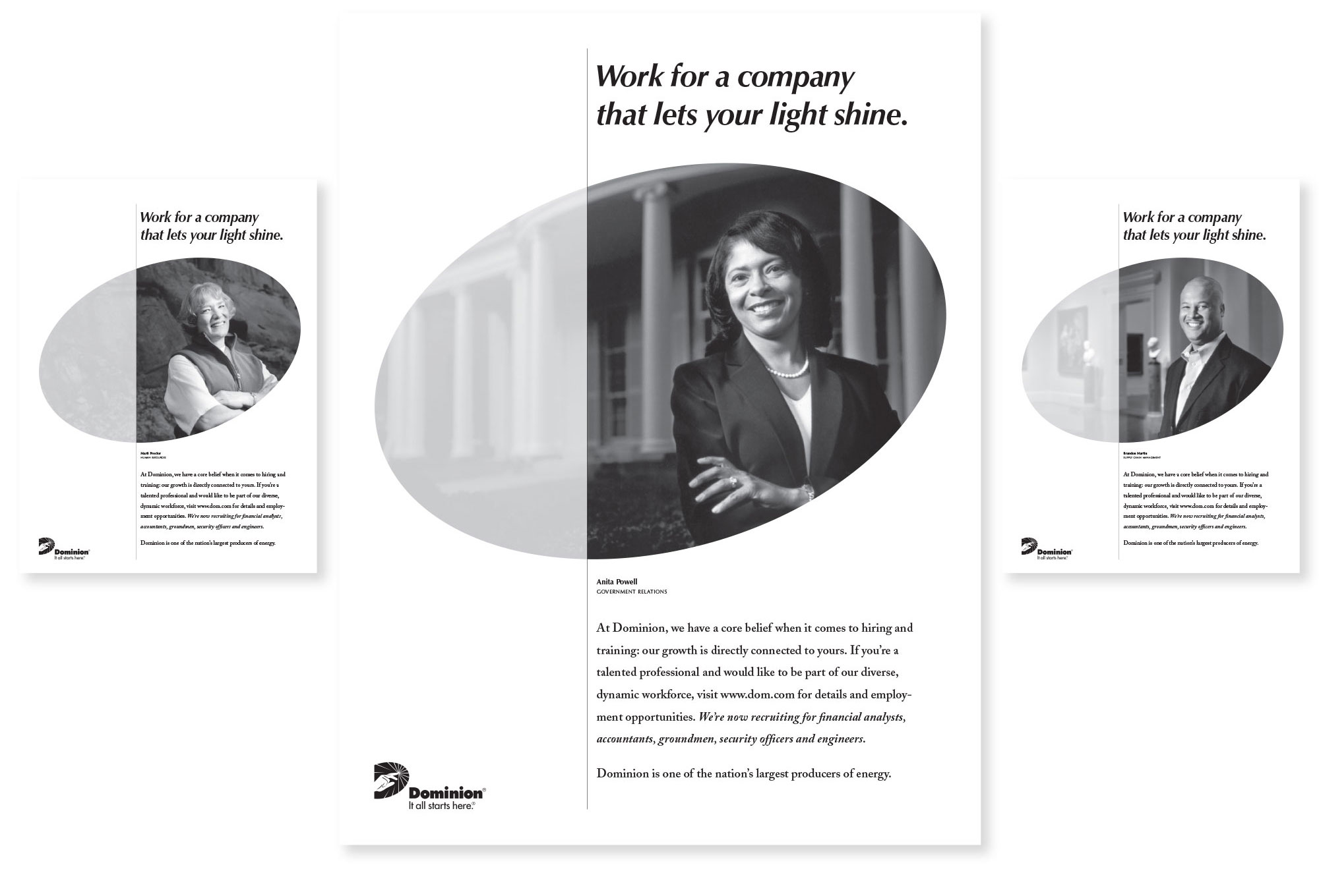 Domion Human Resource Ads