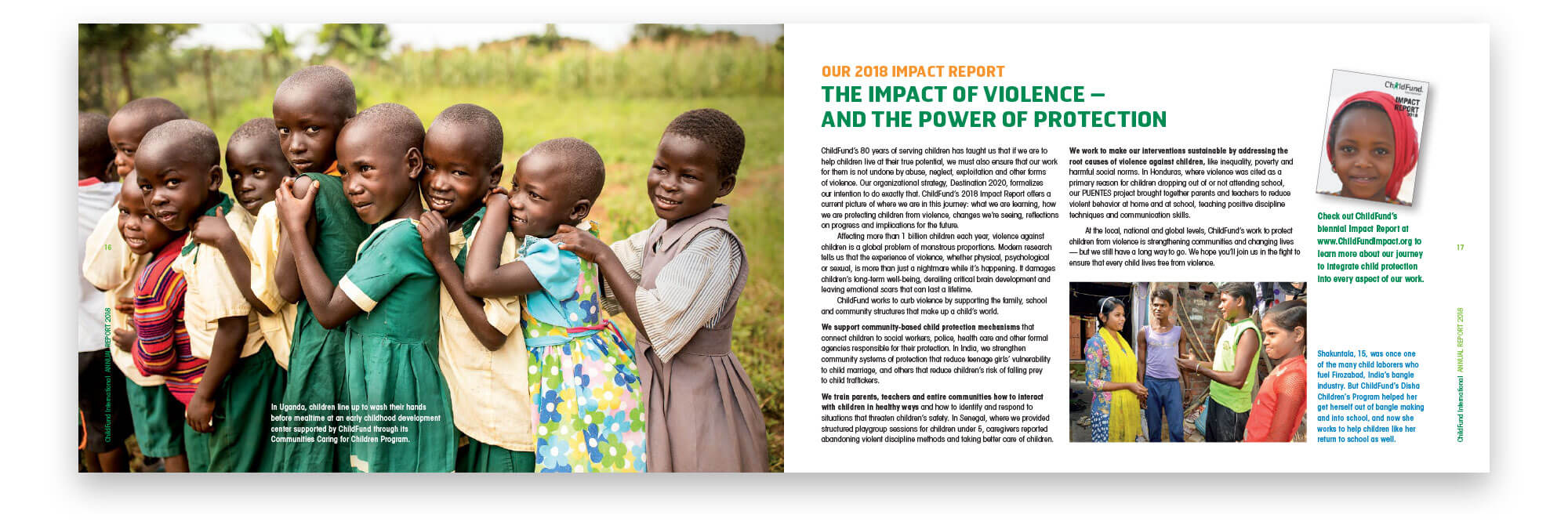 Impact of Violence spread