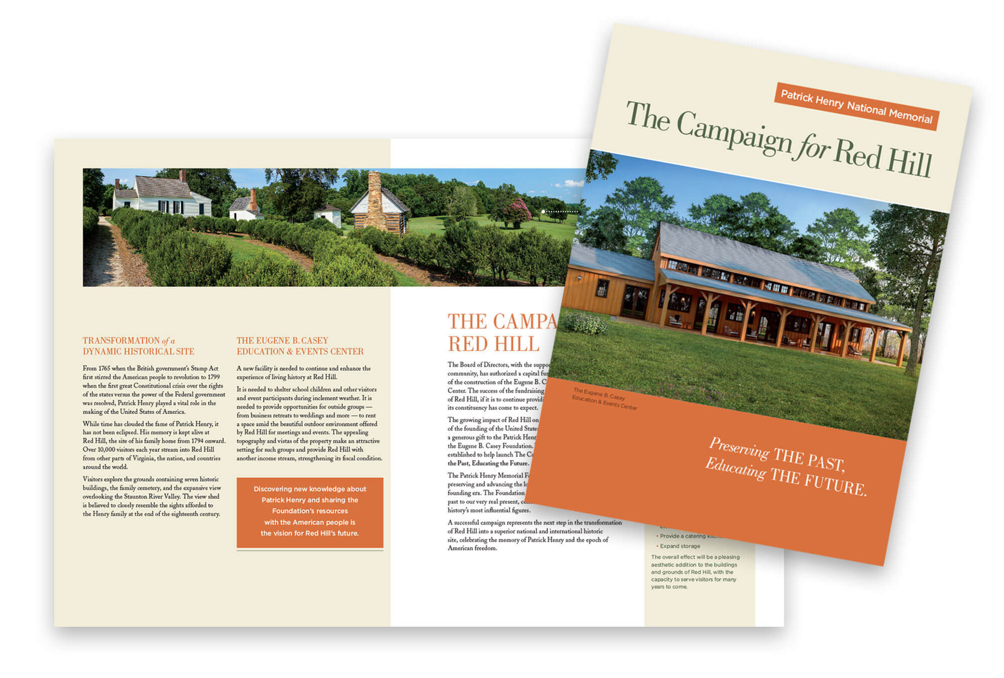 Campaign for Red Hill cover and spread