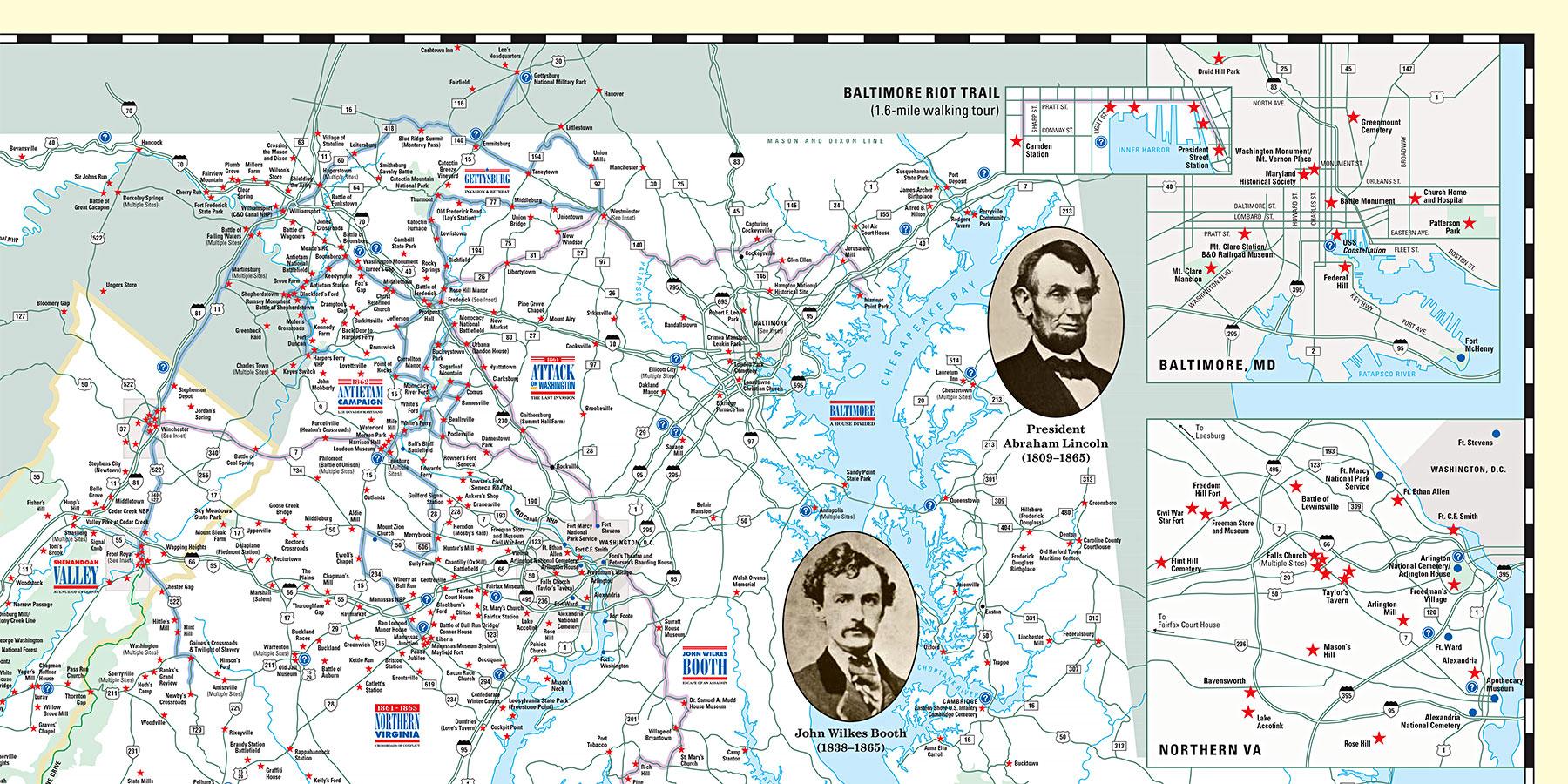 Map Detail - D.C. area