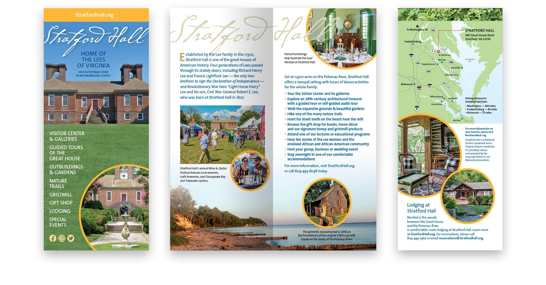 4-panel brochure layouts