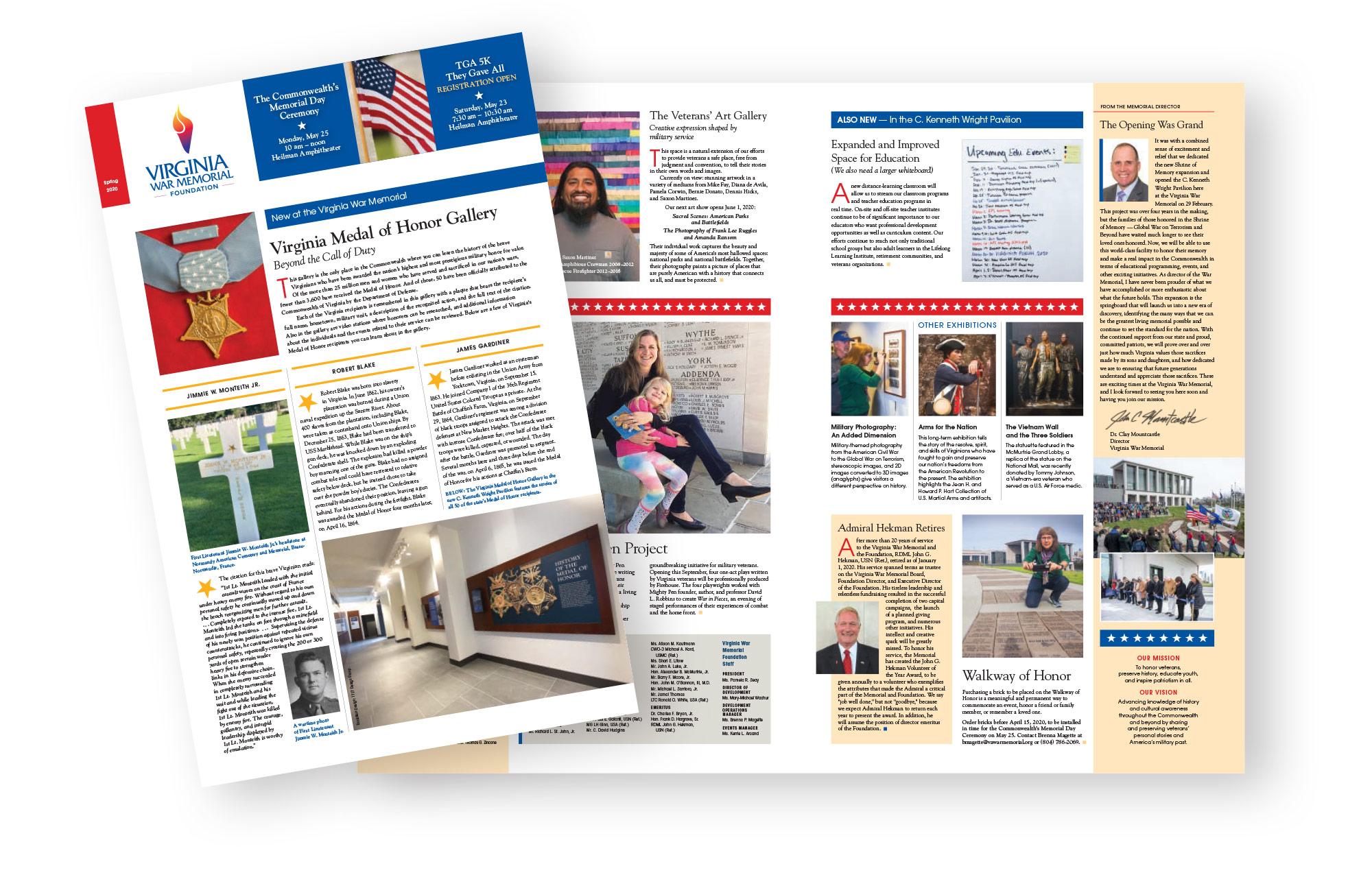 War Memorial newsletter